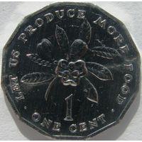 Ямайка 1 цент, 1975 КМ#64 ФАО