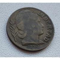 Аргентина 10 сентаво, 1950  8-11-6