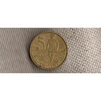 Эфиопия 5 центов/сантимов 2006/лев(Ki)