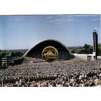 Эстония 1 крона 1999 Песенный фестиваль в буклете