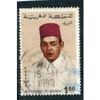 Марокко. Стандарт. Король Хасан II