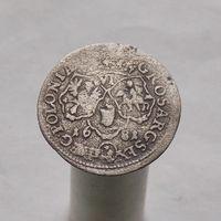 6 грошей 1681 Ян III Собеский