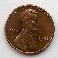 США. 1 цент 1982г.