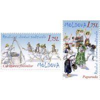 Молдова 2013 Народные праздники и традиции, Летние обряды вызывания дождя и чистки колодцев**