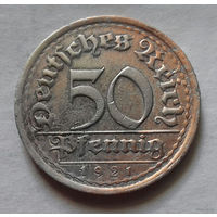 50 пфеннигов, Германия 1921 E