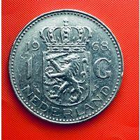 12-27 Нидерланды, 1 гульден 1968 г.