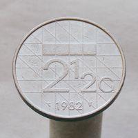 Нидерланды 2.5 гульдена 1982