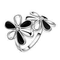 Кольцо с серебрянным покрытием