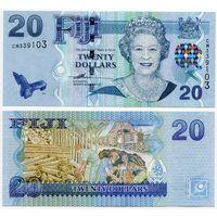 Фиджи. 20 долларов (образца 2007 года, P112, UNC)
