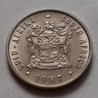 5 центов, ЮАР 1987 г.