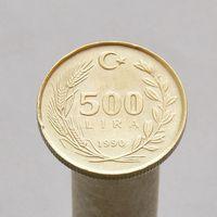 Турция 500 лир 1990