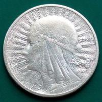 2 злотых 1934 ПОЛЬША - серебро - не частый год !!!