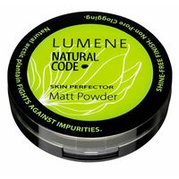 Матирующая пудра Lumene Natural code оттенок 14 Latte для загорелой кожи