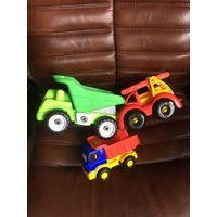 Машинки детские 3 Шт вместе автомобиль Яркие красочные Все как на фото