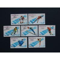 Гвинея-Бисау 1989г. Спорт.