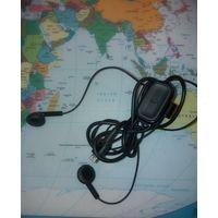Наушники от Nokia 63000 с переключателем и микрофоном, рабочие, новые