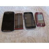 Мобильные телефоны на запчасти. Три мобильных