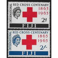 1963 Фиджи 175-176 Красный Крест 9,00евро