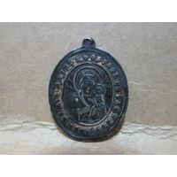 Икона-образок медальон серебро 84 пр.