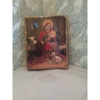 Католическая икона Рождество Христово Размер 18.5-23.5