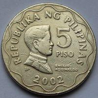 Филиппины, 5 писо 2002 г