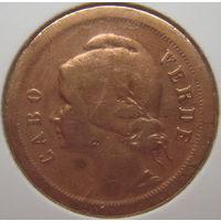 Кабо-Верде 10 сентаво 1930 г. В холдере. Состояние! (gk)