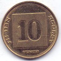 Израиль, 10 агорот 2004 года.