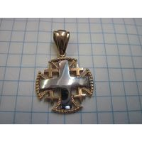 Подвеска-крестик Jerusalem Au375.