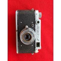 Фотоаппарат ФЭД-2 1956 г. с выдвижным объективом Индустар-10