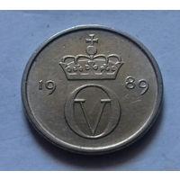10 эре, Норвегия 1989 г.