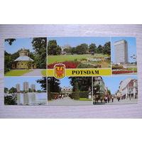 ГДР, Потсдам; 1979, чистая (размер 10,5*21 см).