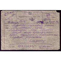 Телеграмма-молния 1941