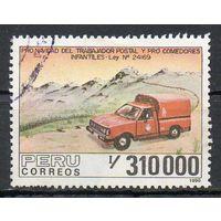 Автомобили Перу 1990 год серия из 1 марки