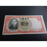 Китай 1 юань 1936 год