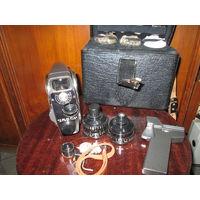 Кинокамера Кварц 2х85-1М комплектная в кофре.