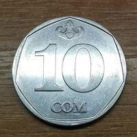 Киргизия 10 сом 2009 _РАСПРОДАЖА КОЛЛЕКЦИИ
