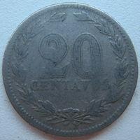 Аргентина 20 сентаво 1923 г. (g)