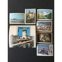 Туризм. Румыния,1978, серия 6 марок+блок