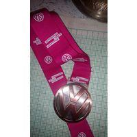 Медаль настольная фольксваген марафон