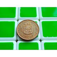 Латвия. 2 евроцента 2014.