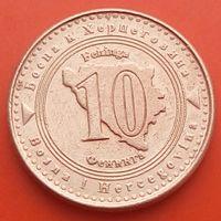 10 фенингов 1998 БОСНИЯ и ГЕРЦЕГОВИНА