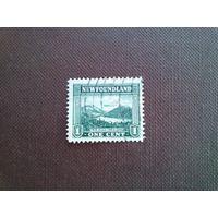 Британский Ньюфаундлен 1923 г. Бухта Твин-Хиллз.