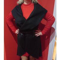 Накидка-пальто универсального размера 46-56