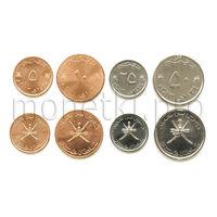 Оман 4 монеты 2011-2013 годов.