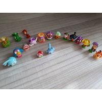 Игрушки от Киндера смешарики 15 шт