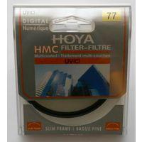 Ультрафиолетовый с многослойным просветлением защитный фильтр HOYA UV(C) HMC MULTI 77 мм Slim Frame