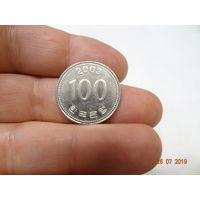 Южная Корея 100 вон
