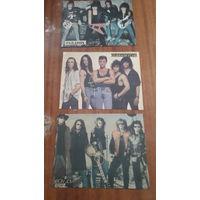 Постеры рок 80х из журналов