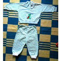 Пижама детская  на 1 годик.