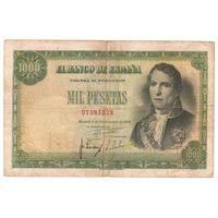 Испания 1000 песет 1949 года. Редкая!